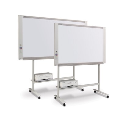 Plus Boards 2 Panel Black and White Electronic Copyboard