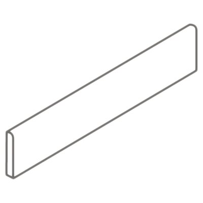 "<strong>American Olean</strong> Carriage House 12"" x 3"" Bullnose Tile Trim in Canvas"