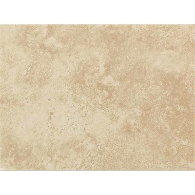 "American Olean Ash Creek 9"" x 12"" Glazed Decorative Wall Tile in Almond"