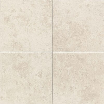 "American Olean Carriage House 12"" x 12"" Glazed Field Tile in Canvas"