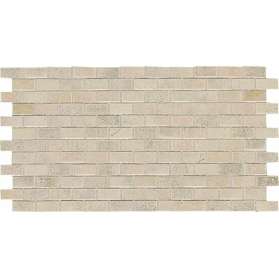 American Olean Costa Rei 2&quot; x 1&quot; Brick Joint Mosaic Tile in Sabbia Dorato