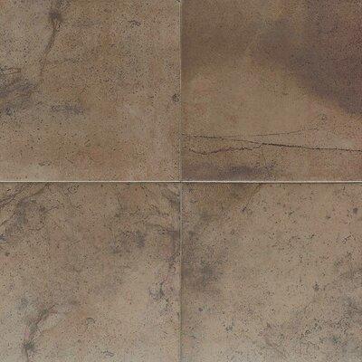 """American Olean Costa Rei 18"""" x 18"""" Glazed Field Tile in Terra Marrone"""