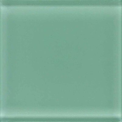 "American Olean Legacy Glass 12"" x 12"" Glazed Brick Joint Mosaic Tile in Palm"