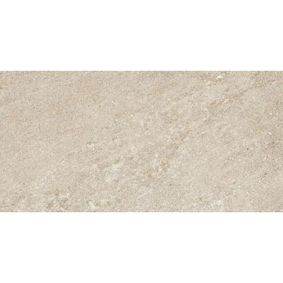 "American Olean Allora 18"" x 36"" Light Polished Porcelain Tile in Sabbia"