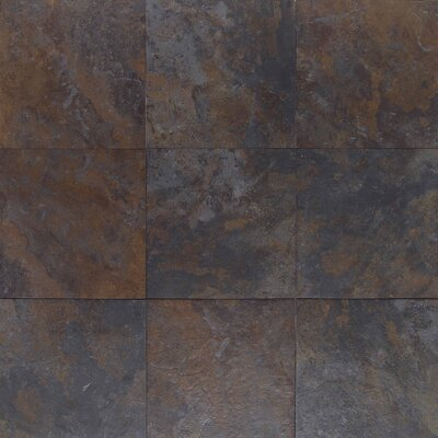"American Olean Amber Valley 13 1/8"" x 13 1/8"" Glazed Porcelain Floor Tile in River Moss"