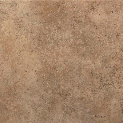 American Olean Vallano Glazed Field Tile in Milk Chocolate