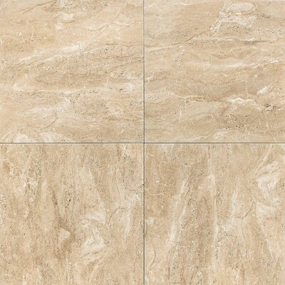 Torre Venato Glazed Porcelain Field Tile in Sabbia