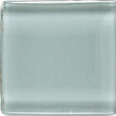 """American Olean Legacy Glass 4"""" x 2"""" Glazed Brick Joint Mosaic Tile in Moonlight"""