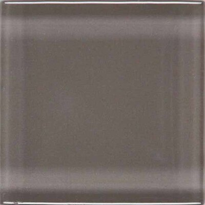 "American Olean Legacy Glass 1"" x 1"" Glazed Brick Joint Mosaic Tile in Orchid"