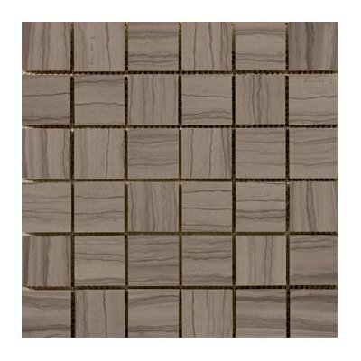 "Emser Tile Metro 12"" x 12"" Honed Marble Tile in Taupe"