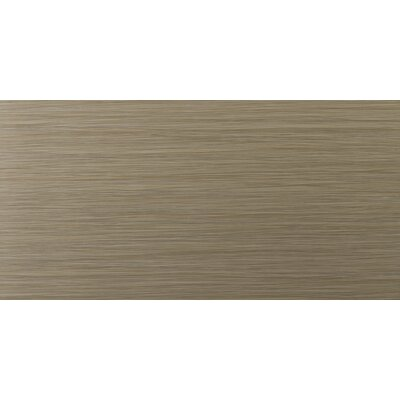 "Emser Tile Strands 12"" x 24"" Porcelain Floor Tile in Olive"