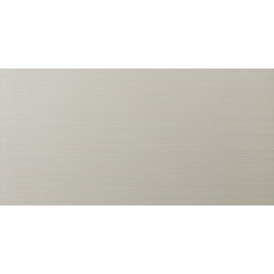 "Emser Tile Strands 12"" x 24"" Porcelain Floor Tile in Pearl"