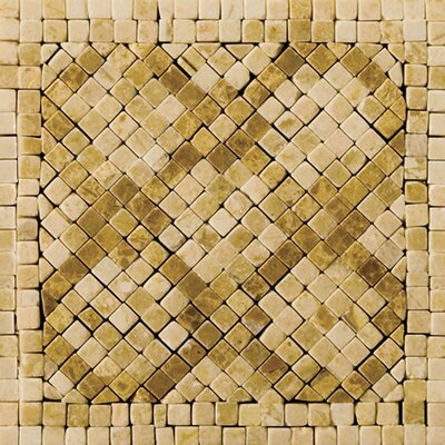 "Emser Tile Natural Stone 4"" x 4"" Honed Marble Savona Listello Corner"