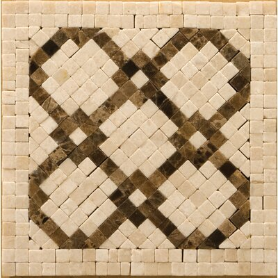 "Emser Tile Natural Stone 4"" x 4"" Honed Marble Scelto Listello Corner"