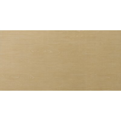 "Emser Tile Alpine 12"" x 36"" Glazed Porcelain Floor Tile in Honey"
