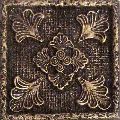 "Emser Tile Camelot 2"" x 2"" Merlin Dot in Bronze"