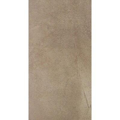 """Emser Tile Napa 24"""" x 12"""" Matte Porcelain Floor Tile in Noce"""