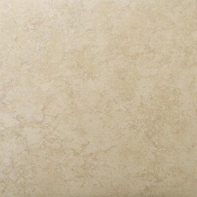 "Emser Tile Odyssey 13"" x 13"" Glazed Ceramic Floor Tile in Beige"