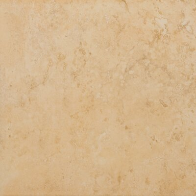 "Emser Tile Odyssey 13"" x 13"" Glazed Ceramic Floor Tile in Oro"