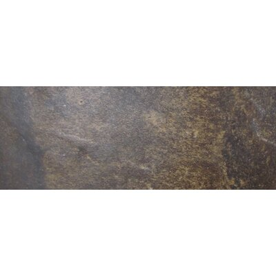 "Emser Tile Paseo 13"" x 3"" Surface Bullnose Tile Trim in Marrone"