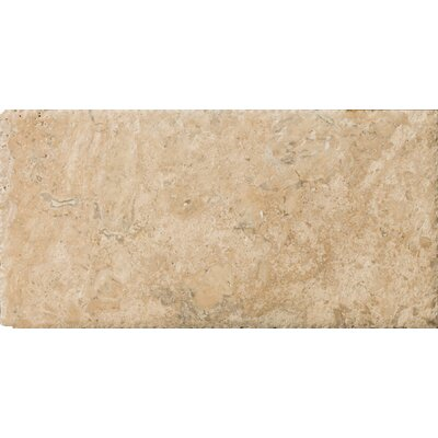 "Emser Tile Natural Stone 8"" x 16"" Chiseled Travertine Field Tile in Philadelphia"