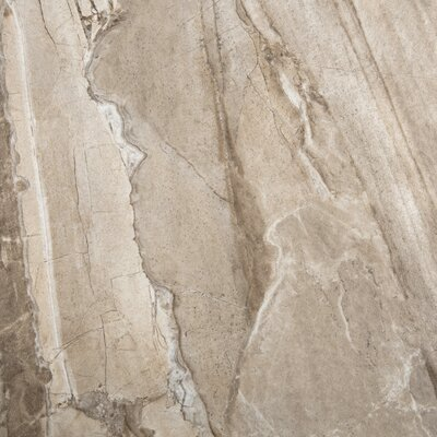 "Emser Tile Eurasia 18"" x 18"" Glazed Porcelain Tile in Cafe"