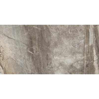 "Emser Tile Eurasia 12"" x 24"" Glazed Porcelain Tile in Grigio"