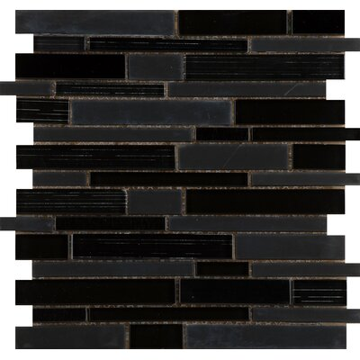 Emser Tile Flash Random Sized Glass Mosaic in Luminous