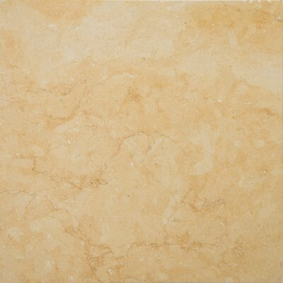 "Emser Tile Jeruselum Gold 18"" x 18"" Honed Limestone Tile in Jerusalem Gold"