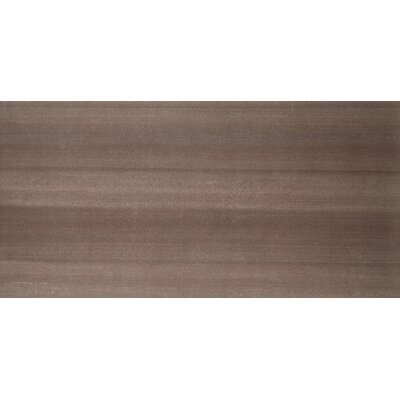 "Emser Tile Perspective 12"" x 24"" Glazed Porcelain Tile in Brown"