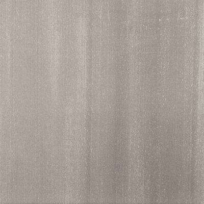 "Emser Tile Perspective 12"" x 12"" Glazed Porcelain Tile in Gray"