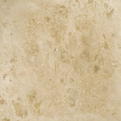 "Emser Tile Trav Pendio 18"" x 18"" Travertine Tile in Beige"