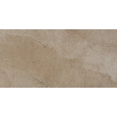 "Emser Tile St. Moritz 12"" x 24"" Glazed Porcelain Tile in Cotton"