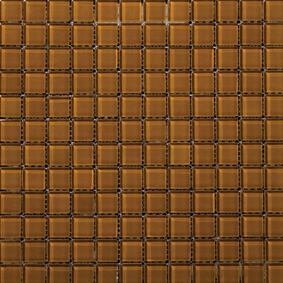 Emser Tile Lucente Glossy Mosaic in Amber