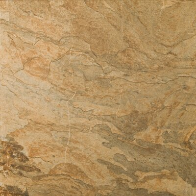 "Emser Tile Landscape 12"" x 12"" Porcelain Floor Tile in Prarie"