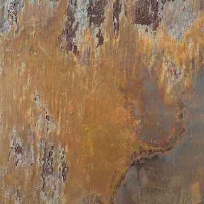 "Emser Tile Natural Stone 12"" x 12"" Calibrated Slate Tile in Multicolor Rajah"