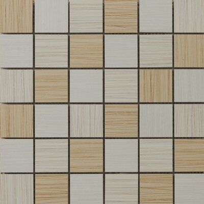Emser Tile Strands Blend Mosaic Tile in Light