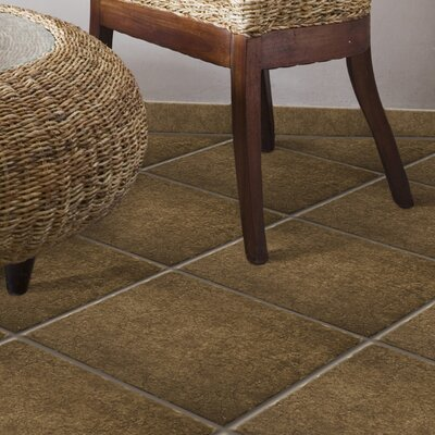 "Emser Tile Genoa 13"" x 13"" Glazed Porcelain Floor Tile in Pinelli"