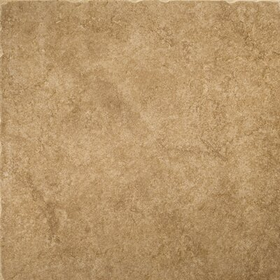 "Emser Tile Genoa 7"" x 7"" Glazed Porcelain Floor Tile in Campetto"