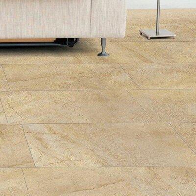 """Emser Tile Napa 12"""" x 12"""" Matte Porcelain Floor Tile in Avorio"""