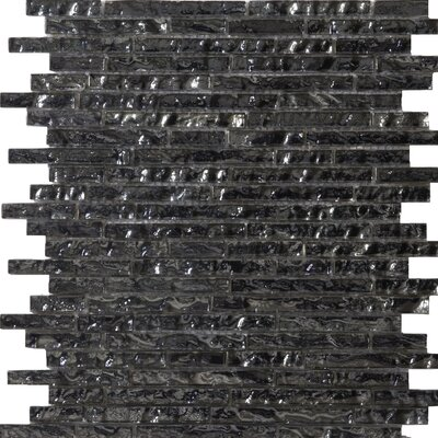 Emser Tile Vista Random Sized Glass Mosaic in Seguso Linear