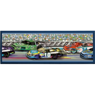 Illumalite Designs Race Cars Wall Plaque