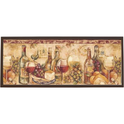 Wine Still Life Wall Plaque