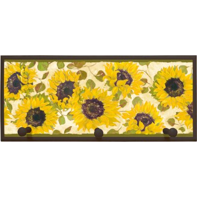 Illumalite Designs Summer Fields Wall Plaque with Wooden Pegs
