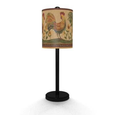 Illumalite Designs Roosters Accent Table Lamp