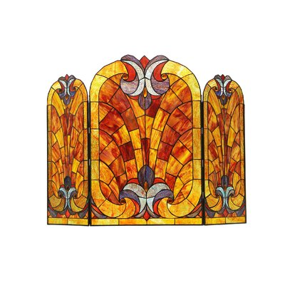 Victorian 3 Panel Garbo Fireplace Screen