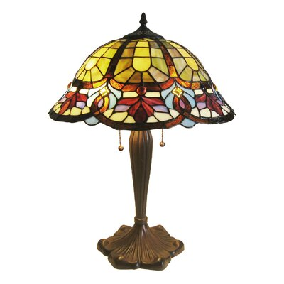 chloe lighting tiffany style butterfly accent table lamp with 9. Black Bedroom Furniture Sets. Home Design Ideas