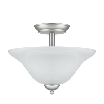 Chloe Lighting The Versailles Theophania Family 2 Light Semi-Flush Mount