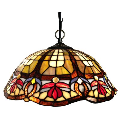 Chloe Lighting 2 Light Victorian Large Hanging Pendant