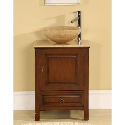 "Silkroad Exclusive Mercer 22"" Single Bathroom Vanity Set"